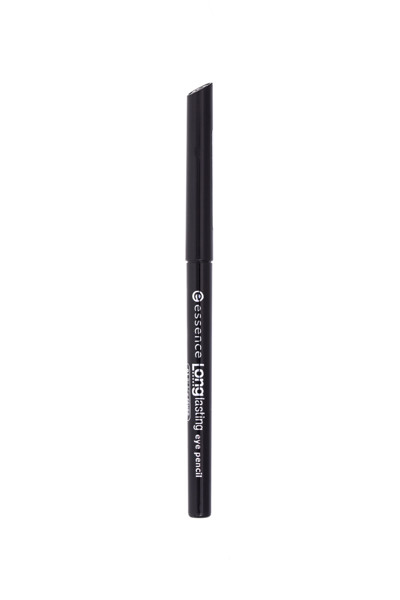 ESSENCE LONGLASTING, ilgalaikis akių pieštukas, 01 Black Fever paveikslėlis