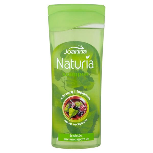 JOANNA NATURIA, beržų ir varnalėšų šampūnas riebiems plaukams, 200 ml paveikslėlis