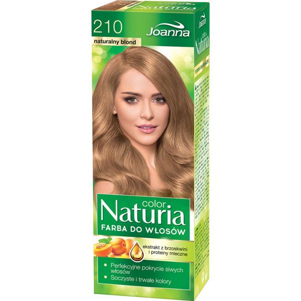 JOANNA NATURIA COLOR, plaukų dažai, 210 natūrali šviesi paveikslėlis