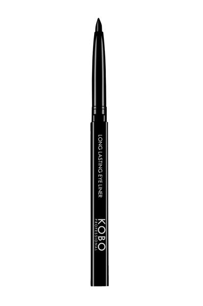 KOBO PROFESSIONAL LONG LASTING EYE LINER, akių kontūro pieštukas, 201 Deep Black paveikslėlis