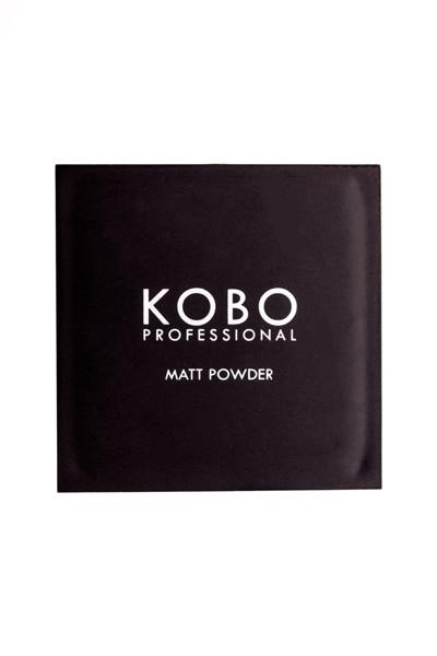 KOBO PROFESSIONAL MATT POWDER, kompaktinė pudra su veidrodėliu, 305 Dusky Beige paveikslėlis