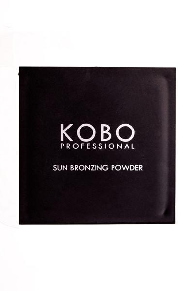 KOBO PROFESSIONAL MATT POWDER, kompaktinė saulės įdegio pudra su veidrodėliu, 306 Egyptian Sand paveikslėlis
