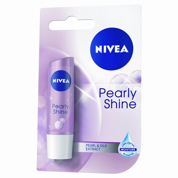 NIVEA LIP CARE PEARLY SHINE, lūpų balzamas, 4,8 g paveikslėlis