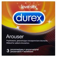 DUREX AROUSER, prezervatyvai, 3 vnt. paveikslėlis