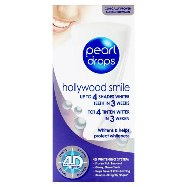 PEARL DROPS HOLLYWOOD SMILE, dantų pasta, 50 ml paveikslėlis