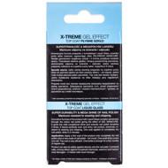 EVELINE X-TREME GEL EFFECT TOP COAT, stiklo efekto viršutinis sluoksnis paveikslėlis