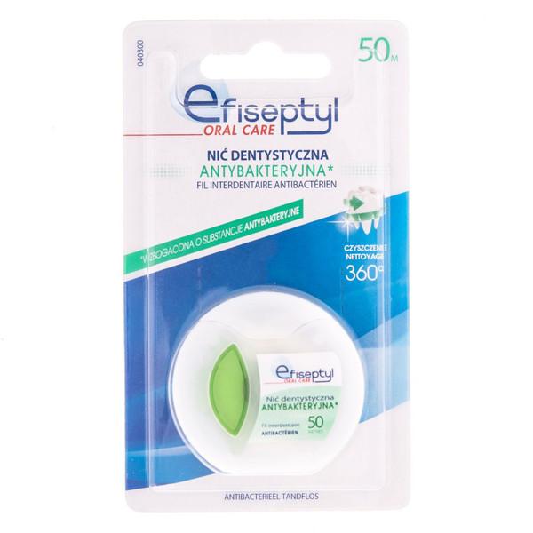 EFISEPTYL ORAL CARE, antibakterinis tarpdančių siūlas paveikslėlis