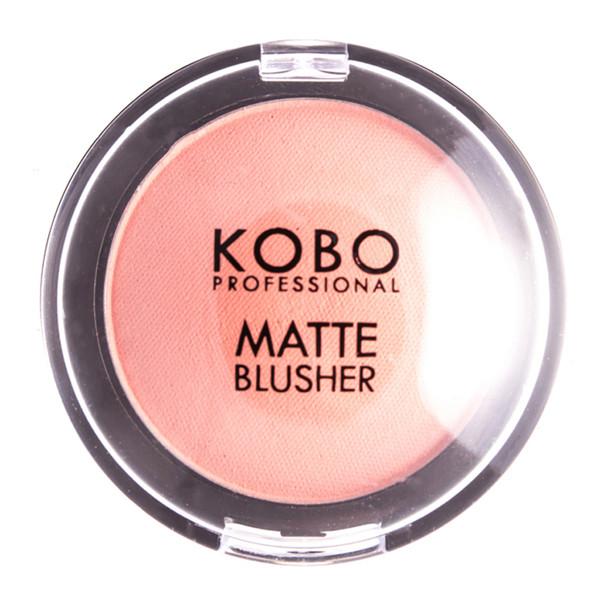 KOBO PROFESSIONAL MATTE BLUSHER, skaistalai, 201 Apricot paveikslėlis