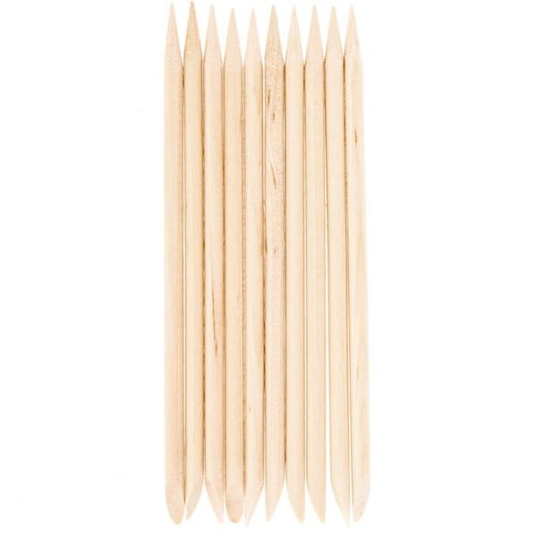 NATURA ACCESSORIES, mediniai manikiūro pagaliukai, 10 vnt. paveikslėlis