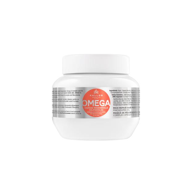 KALLOS OMEGA, plaukų kaukė su omega-6 kompleksu paveikslėlis