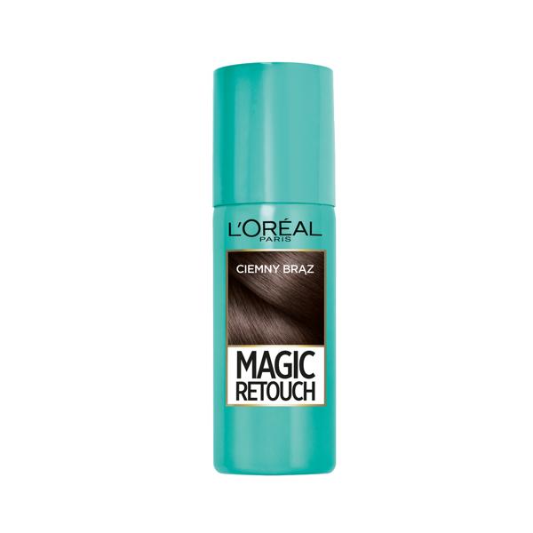 L'OREAL PARIS MAGIC RETOUCH, ataugusias plaukų šaknis paslepiantis purškiklis, 2 tamsi ruda paveikslėlis