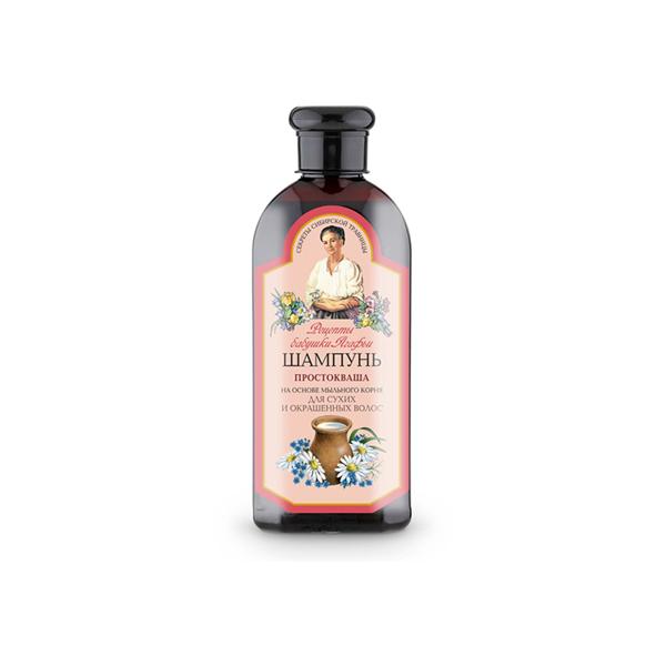 AGAFIA, šampūnas su išrūgomis sausiems ir dažytiems plaukams, 350 ml paveikslėlis