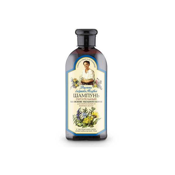AGAFIA, maitinamasis šampūnas riebiems plaukams, 350 ml paveikslėlis