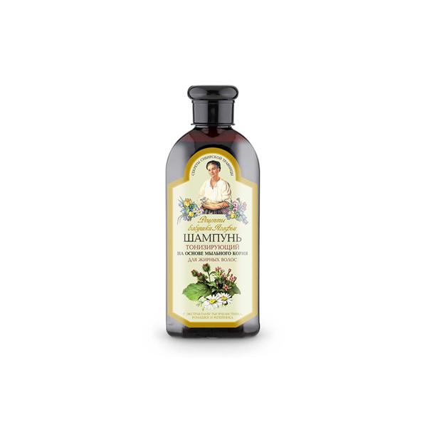 AGAFIA, tonizuojamasis šampūnas riebiems plaukams, 350 ml paveikslėlis