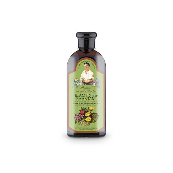 AGAFIA, regeneruojamasis šampūnas ir balzamas visų tipų plaukams, 350 ml paveikslėlis