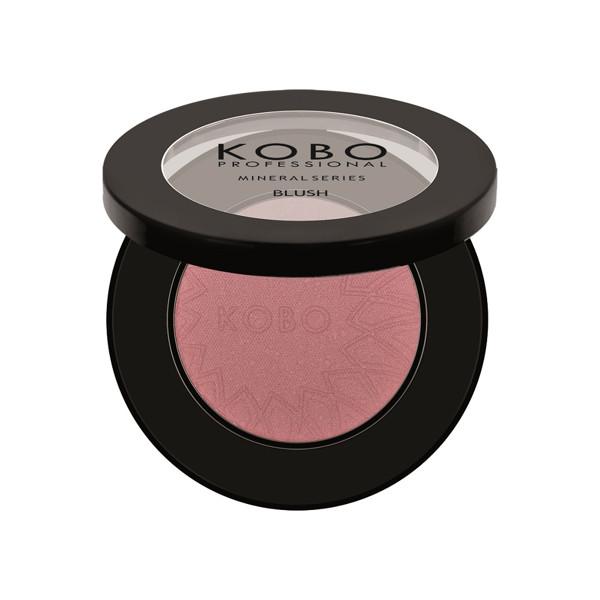 KOBO PROFESSIONAL, mineraliniai skruostų skaistalai, 1 Cold Pink paveikslėlis