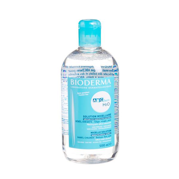 BIODERMA ABCDERM H2O, valomasis vanduo kūdikiams ir vaikams, 500 ml  paveikslėlis