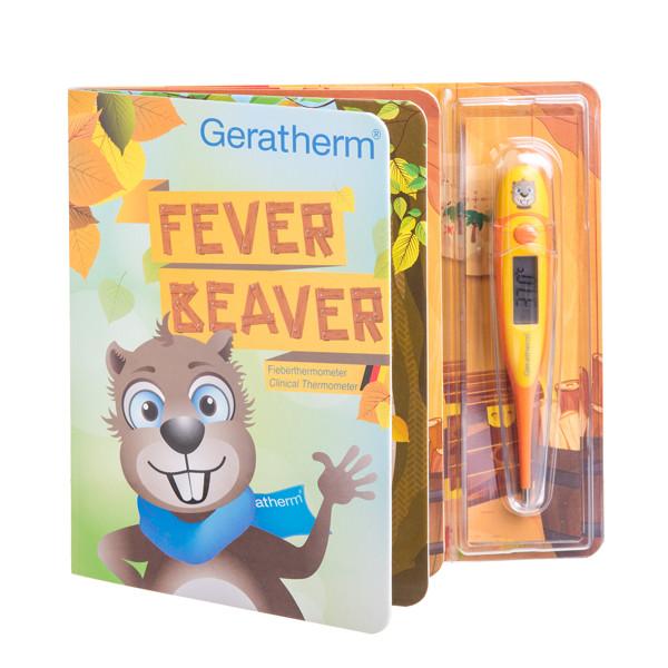GERATHERM FEVER BEAVER, vaikiškas termometras paveikslėlis