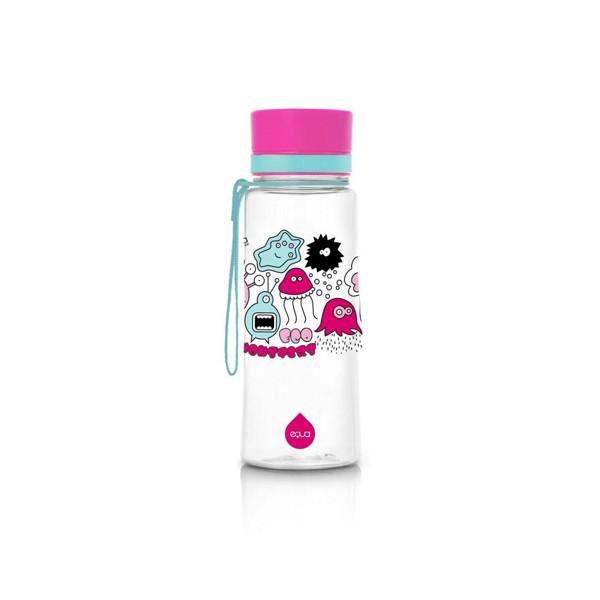 EQUA gertuvė PINK MONSTERS 400 ml, plastikinė, 1 vnt. paveikslėlis