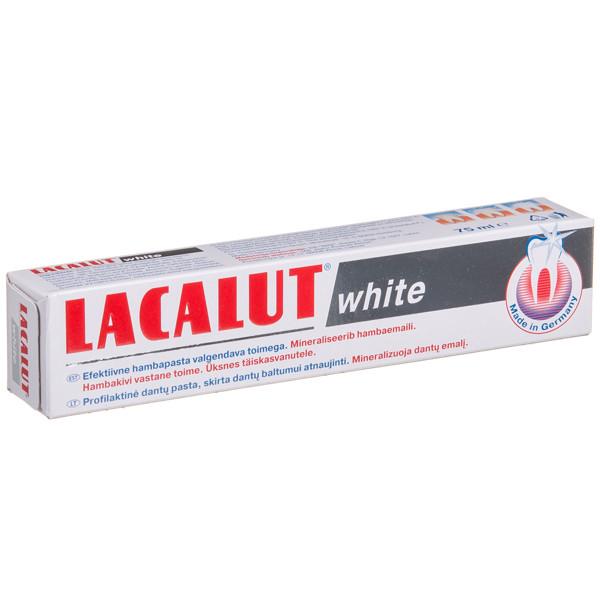 LACALUT WHITE, dantų pasta, 75 ml paveikslėlis