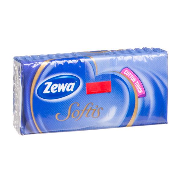 ZEWA SOFTIS, vienkartinės nosinės, 10 vnt. paveikslėlis