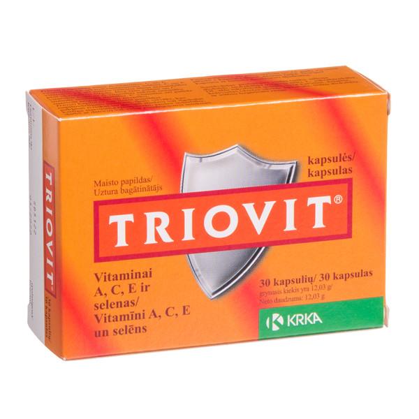 KRKA TRIOVIT, 30 kapsulių paveikslėlis