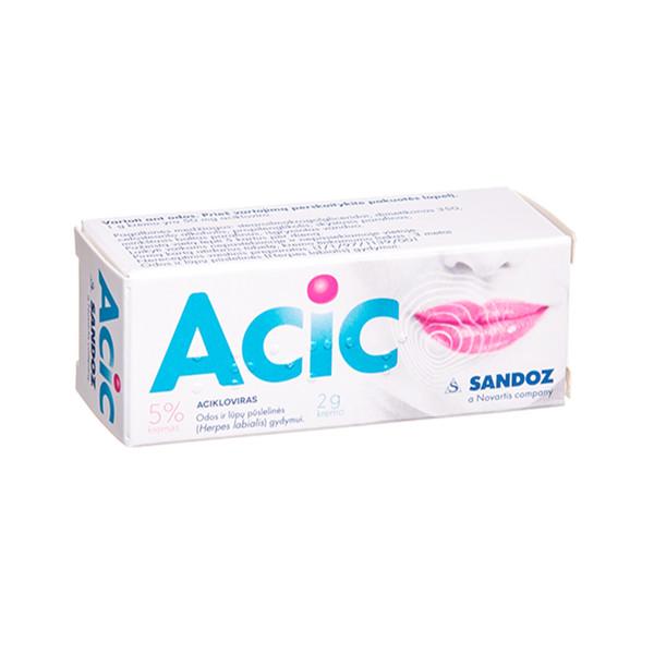 ACIC, 5 %, kremas, 2 g  paveikslėlis