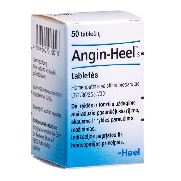 ANGIN-HEEL S, tabletės, N50 paveikslėlis
