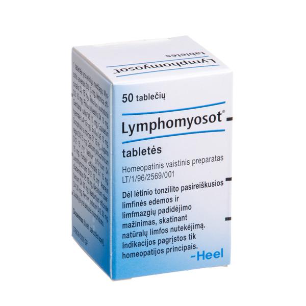 LYMPHOMYOSOT, tabletės, N50 paveikslėlis