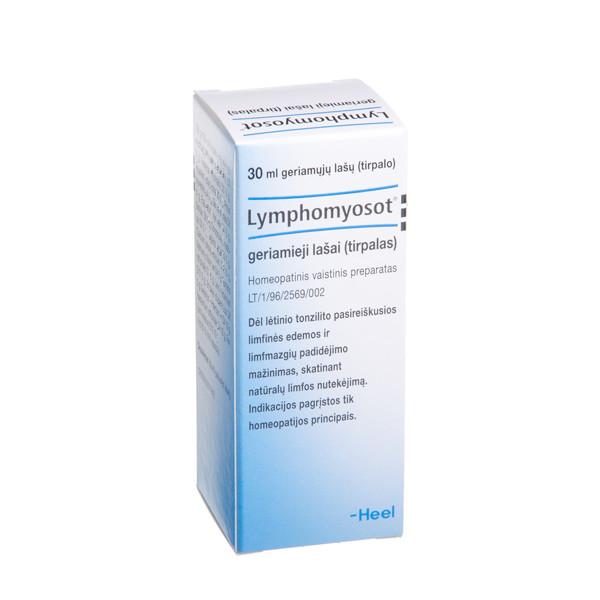 LYMPHOMYOSOT, geriamieji lašai (tirpalas), 30 ml paveikslėlis