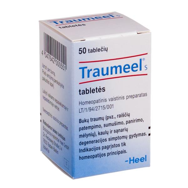 TRAUMEEL S, tabletės, N50  paveikslėlis