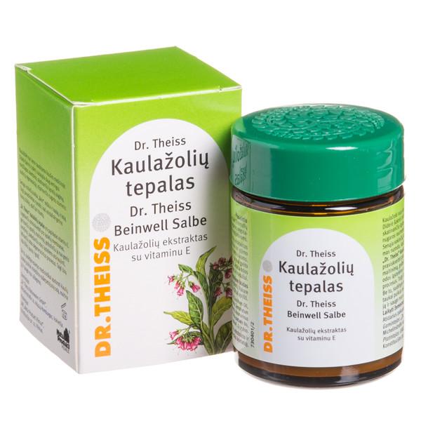 DR. THEISS KAULAŽOLIŲ TEPALAS, su vitaminu E, 50 g paveikslėlis