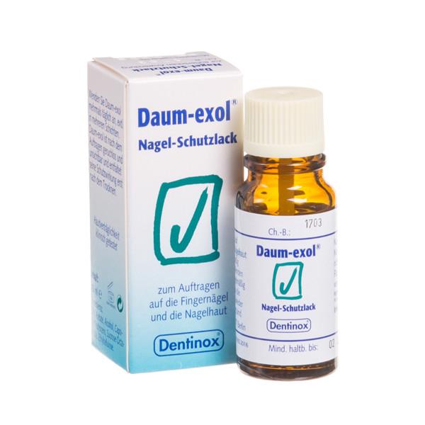 DENTINOX DAUMEXOL N, tirpalas nagams, 10 ml paveikslėlis
