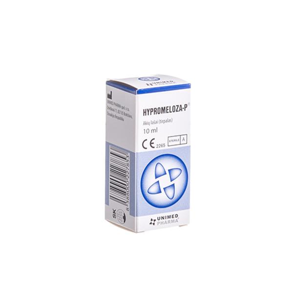 UNIMED PHARMA HYPROMELOZA-P, lašai akims, 0,5 %, 10 ml paveikslėlis