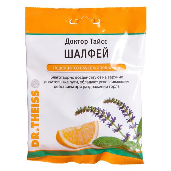 DR. THEISS, apelsinų skonio šalavijų ledinukai, 50 g paveikslėlis