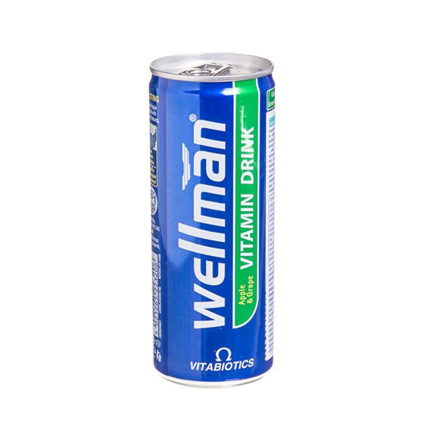 WELLMAN DRINK, gėrimas, 250 ml  paveikslėlis