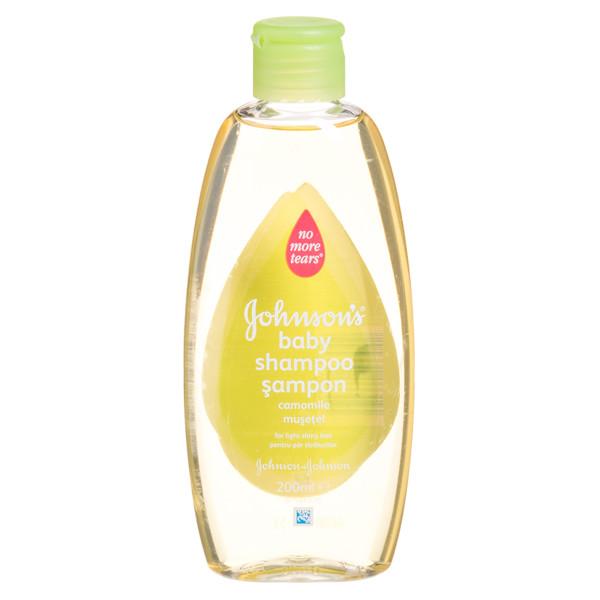 JOHNSON'S BABY, šampūnas su ramunėlių ekstraktu, 200 ml  paveikslėlis
