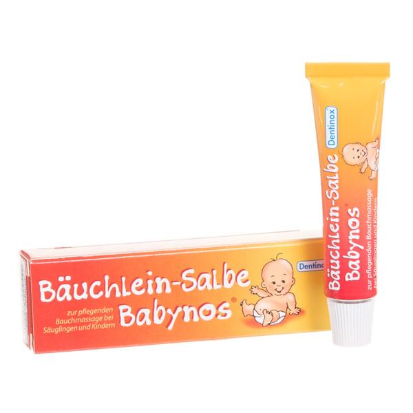 DENTINOX BAUCHLEIN-SALBE BABYNOS, tepalas, 10 ml paveikslėlis