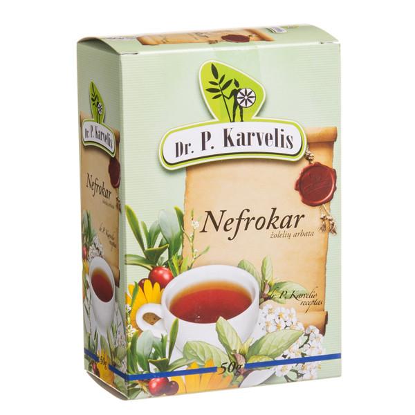 DR. P. KARVELIS NEFROKAR, žolelių arbata, 50 g  paveikslėlis