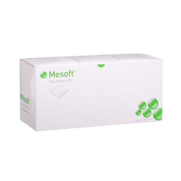 MESOFT, servetėlės, 7,5 cm x 7,5 cm, neaustinės, sterilios, 5 x 30 vnt. paveikslėlis