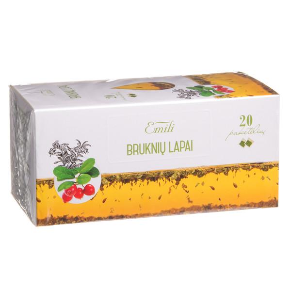 EMILI BRUKNIŲ LAPAI, žolelių arbata, 1,5 g, 20 vnt. paveikslėlis