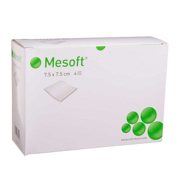 MESOFT, servetėlės, 7,5 cm x 7,5 cm, neaustinės, nesterilios, 300 vnt. paveikslėlis