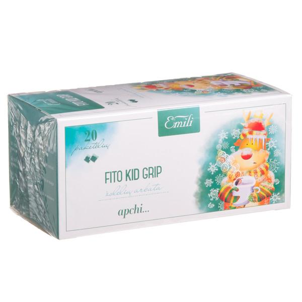 EMILI FITO KID GRIP, žolelių arbata, 1,5 g, 20 vnt. paveikslėlis