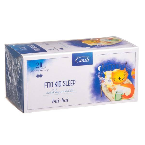 EMILI FITO KID SLEEP, žolelių arbata, 1,5 g, 20 vnt. paveikslėlis