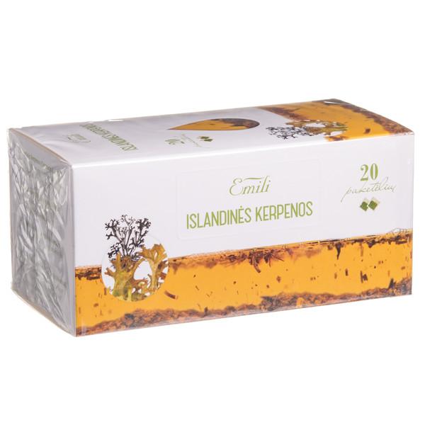 EMILI ISLANDINĖS KERPENOS, žolelių arbata, 1,5 g, 20 vnt. paveikslėlis