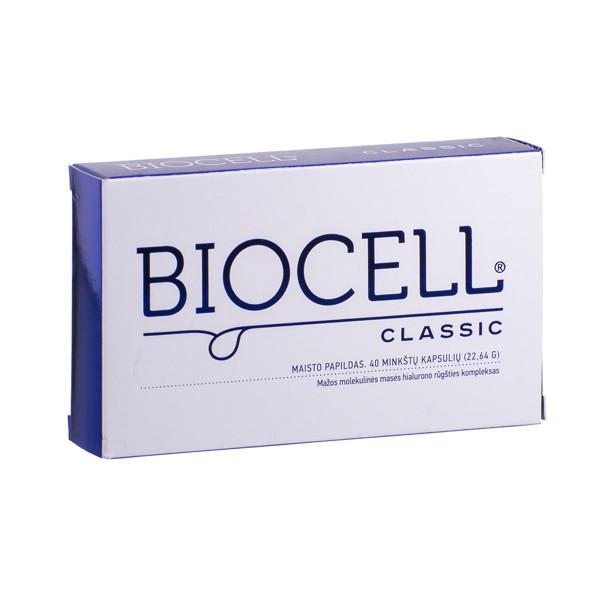 BIOCELL CLASSIC, 40 kapsulių paveikslėlis