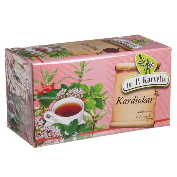 DR. P. KARVELIS KARDIOKAR, žolelių arbata, 1 g, 25 vnt. paveikslėlis