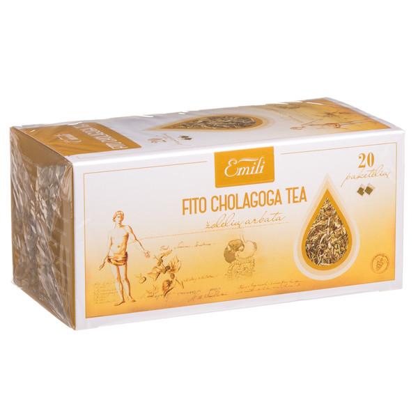 EMILI FITO CHOLAGOGA, žolelių arbata, 1,5 g, 20 vnt. paveikslėlis
