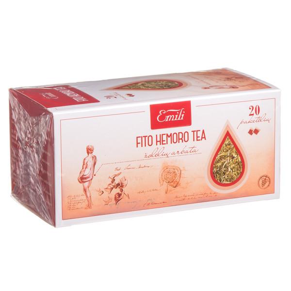 EMILI FITO HEMORO, žolelių arbata, 1,5 g, 20 vnt.  paveikslėlis