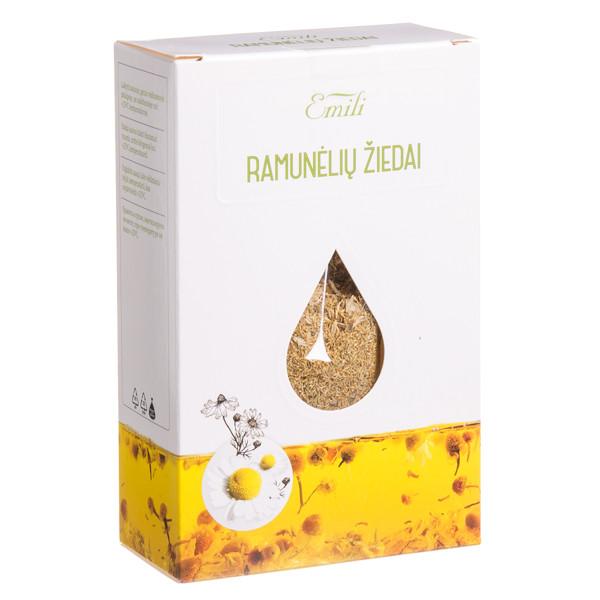 EMILI RAMUNĖLIŲ ŽIEDAI, žolelių arbata, 40 g paveikslėlis
